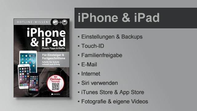 Buchvorstellung Hotline-Wissen iPhone & iPad