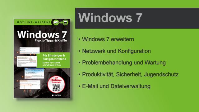Buchvorstellung Hotline-Wissen Windows 7