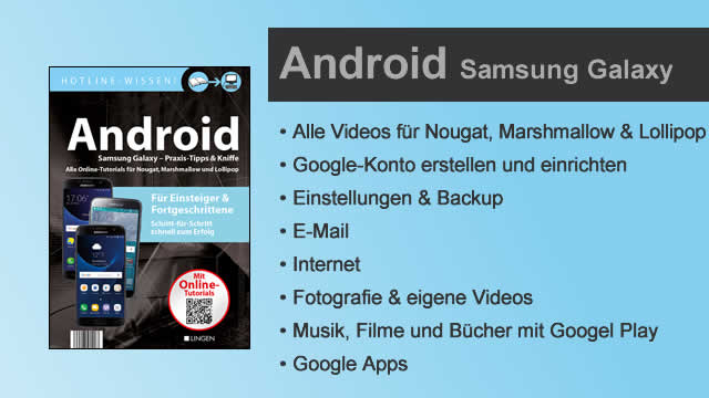 Buchvorstellung Hotline-Wissen Android Samsung Galaxy